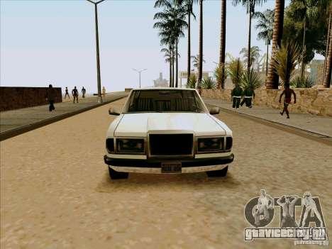 Admiral Limo для GTA San Andreas вид справа