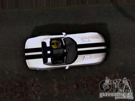 Dodge Viper SRT-10 Custom для GTA San Andreas вид сзади