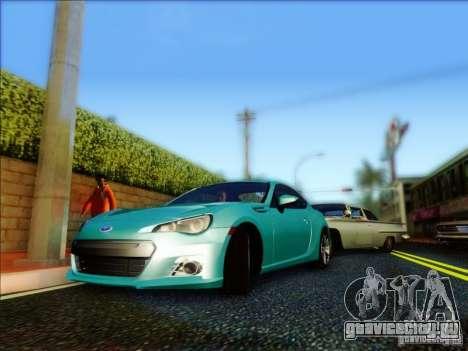 Subaru BRZ S 2012 для GTA San Andreas вид слева