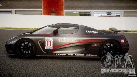 Koenigsegg Agera v1.0 [EPM] для GTA 4 вид слева