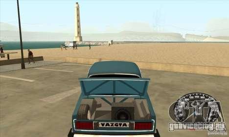 ВАЗ 2106 Light Tuning для GTA San Andreas вид справа