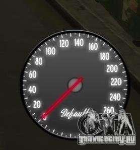 Спидометр IV (Скин 2) для GTA 4 второй скриншот
