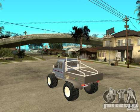ГАЗ КержаК (Болотоход) для GTA San Andreas вид слева