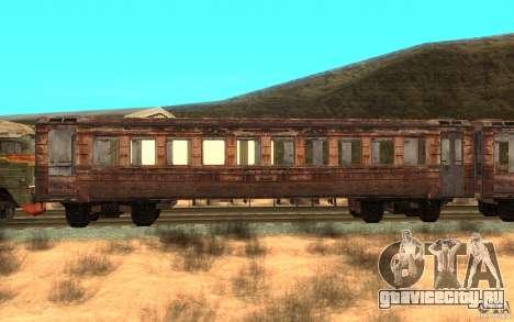Поезд из игры Stalker для GTA San Andreas вид слева