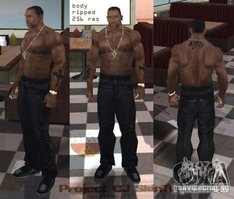 Navetsea CJ Skin Tweak 512 r2 для GTA San Andreas второй скриншот