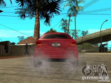 Audi S3 2006 Juiced 2 для GTA San Andreas вид сзади слева