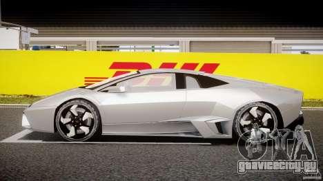 Lamborghini Reventon v2 для GTA 4 вид изнутри
