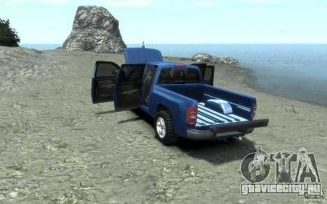 Chevrolet Silverado 2008 для GTA 4 вид сверху