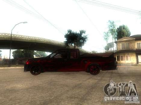 Isuzu D-Max для GTA San Andreas вид слева