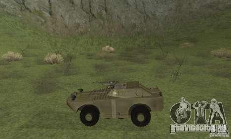БРДМ-1 Скин 2 для GTA San Andreas вид сзади слева