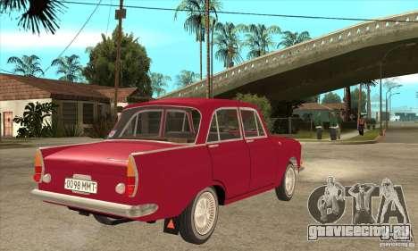 АЗЛК 408 для GTA San Andreas вид справа