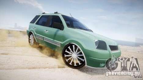 Ford EcoSport для GTA 4 вид снизу