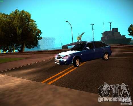 ВАЗ 2172 Рестайл для GTA San Andreas вид слева