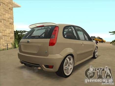 Ford Fiesta ST для GTA San Andreas