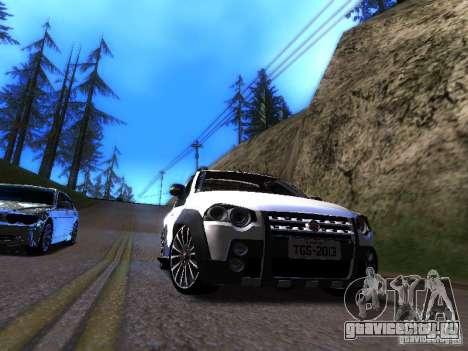 Fiat Strada для GTA San Andreas вид слева