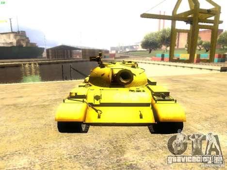 Type 59 v1 для GTA San Andreas вид сзади