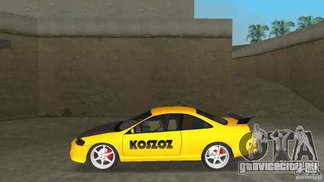 Honda Accord Coupe Tuning для GTA Vice City вид слева