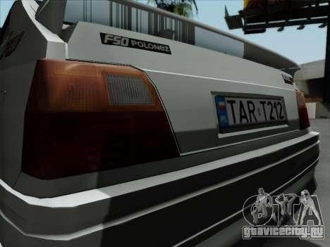 FSO Polonez Caro Orciari 1.4 GLI 16v для GTA San Andreas вид справа