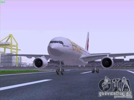 Airbus A330-200 Emirates для GTA San Andreas