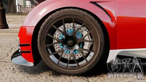 Bugatti Veyron 16.4 Body Kit Final Stock для GTA 4 вид изнутри