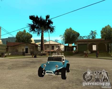 Volkswagen Dune Buggy для GTA San Andreas вид сзади