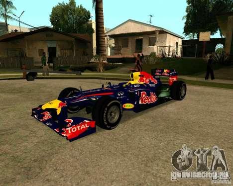 Red Bull RB8 F1 2012 для GTA San Andreas