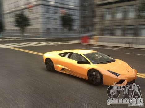 Lamborghini Reventon 2008 для GTA 4 вид справа