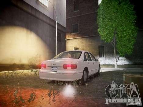 Chevrolet Caprice 1993 Rims 1 для GTA 4 вид сзади