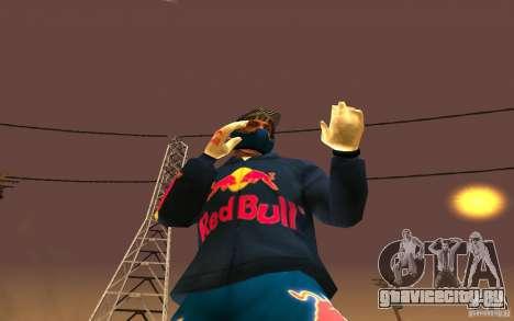Red Bull Clothes v1.0 для GTA San Andreas шестой скриншот