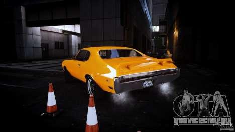 Buick GSX 1970 для GTA 4 вид сзади слева