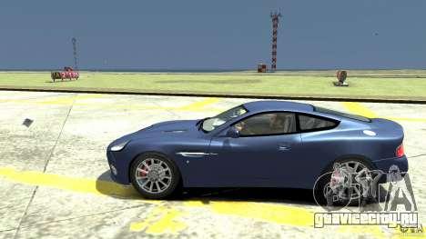 Aston Martin Vanquish S для GTA 4 вид слева