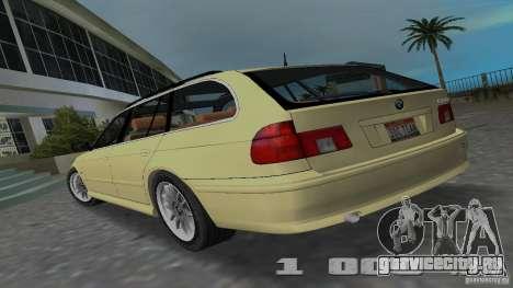 BMW 5S Touring E39 для GTA Vice City вид слева