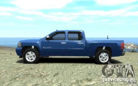 Chevrolet Silverado 2008 для GTA 4 вид справа