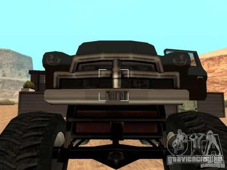 Walton Monster для GTA San Andreas вид сзади