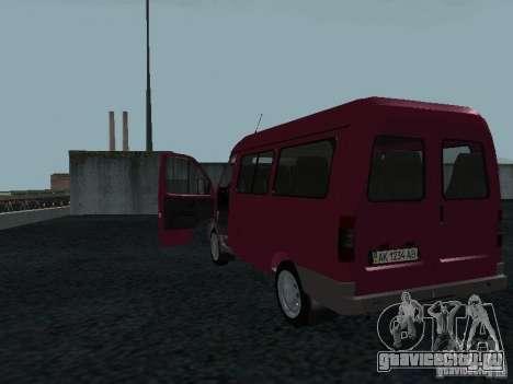 ГАЗ 2217 Соболь для GTA San Andreas вид справа