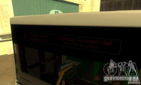Daewoo Bus BC211MA для GTA San Andreas вид сзади слева