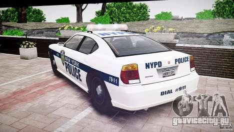 FIB Buffalo NYPD Police для GTA 4 вид сбоку