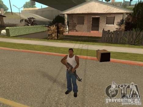 Ручной Пулемёт Дягтерёва для GTA San Andreas пятый скриншот