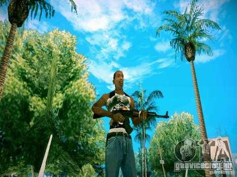 HD пак оружия для GTA San Andreas четвёртый скриншот
