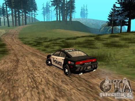 Dodge Charger Canadian Victoria Police 2011 для GTA San Andreas вид справа