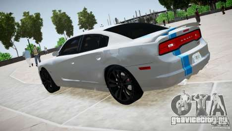Dodge Charger SRT8 2012 для GTA 4 вид справа