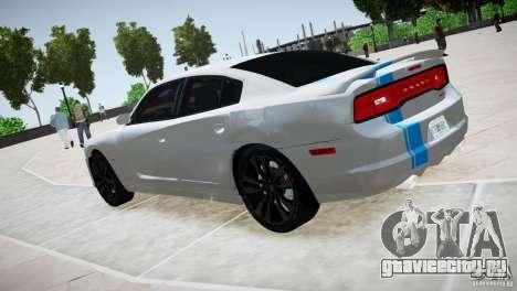 Dodge Charger SRT8 2012 для GTA 4 вид справа