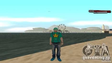 Skin Pack The Rifa Gang HD для GTA San Andreas пятый скриншот
