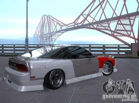 Nissan 240SX Tuned для GTA San Andreas вид справа