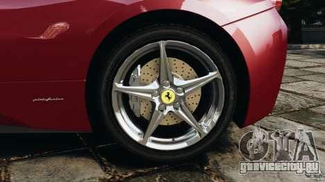 Ferrari 458 Italia 2010 v2.0 для GTA 4 вид сверху