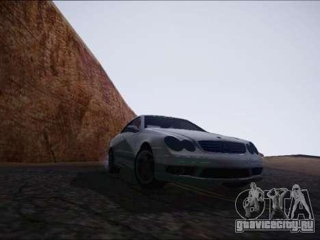 Mercedes-Benz CLK для GTA San Andreas вид справа