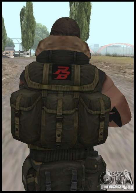 [Point Blank] Terrorist для GTA San Andreas третий скриншот