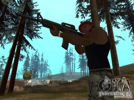 M4A1 для GTA San Andreas четвёртый скриншот