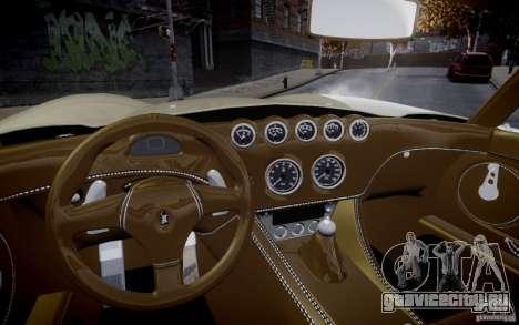 Wiesmann MF3 Roadster Final для GTA 4 вид справа