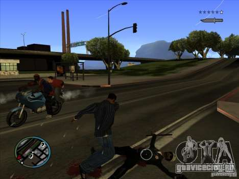 GTA IV TARGET SYSTEM 3.2 для GTA San Andreas седьмой скриншот